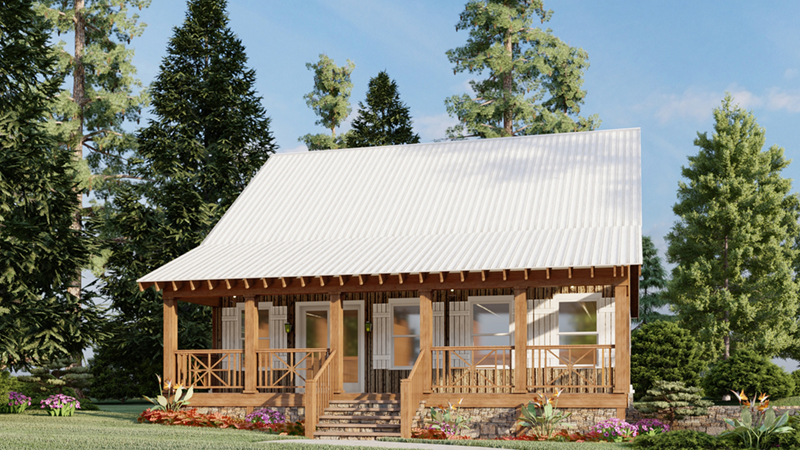 Aspen Falls Acadian Style Home Plan 155d 0005 House Plans And More