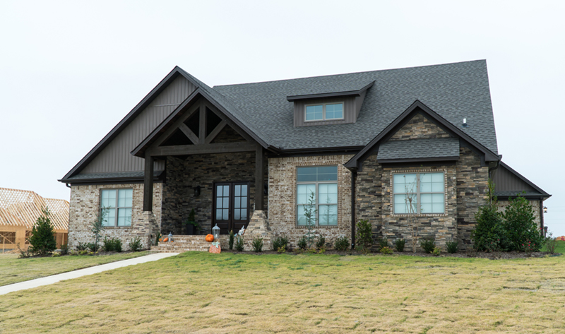 Vacation House Plan Front Photo 02 - Mayer Stream Craftsman Home 155D-0027 | House Plans and More