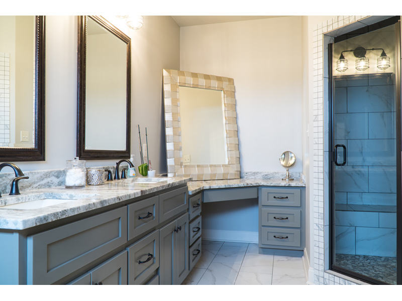 Traditional House Plan Master Bathroom Photo 02 - Mayer Stream Craftsman Home 155D-0027 | House Plans and More