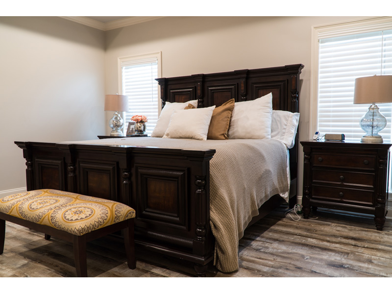 Traditional House Plan Master Bedroom Photo 02 - Mayer Stream Craftsman Home 155D-0027 | House Plans and More