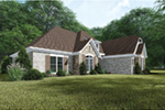 European House Plan Front Photo 01 -  155D-0065 | House Plans and More