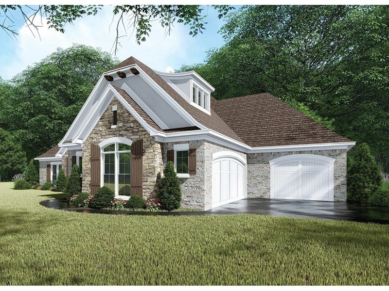 European House Plan Front Photo 02 -  155D-0065 | House Plans and More