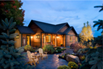 Lake House Plan Front of Home - Cherokee Point Craftsman Home 163D-0003 | House Plans and More